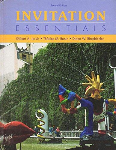 9780030103827: Invitation Essentials