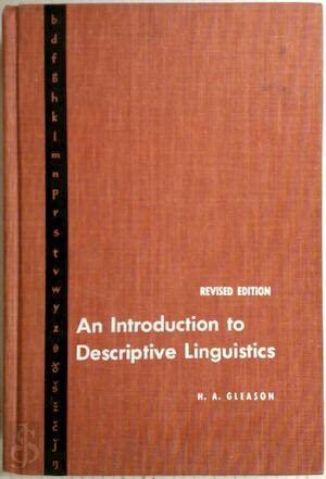 9780030104657: Gleason Intro Desc Linguistics