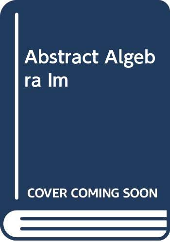 9780030105623: Abstract Algebra
