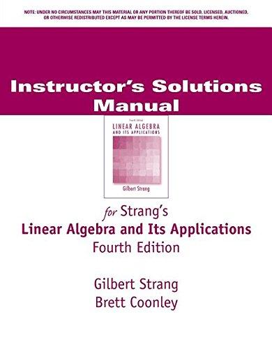 9780030105685: Linear Algebra & Its Applications
