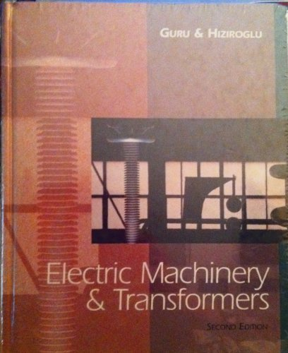9780030105920: Electric Machinery and Transformers