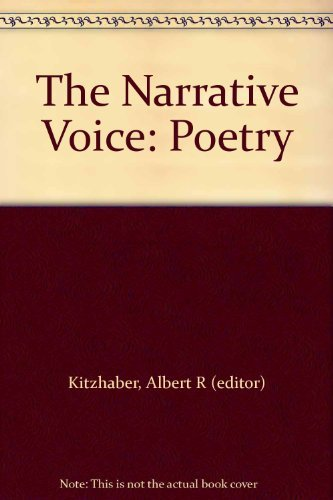 9780030109065: The Narrative Voice: Poetry