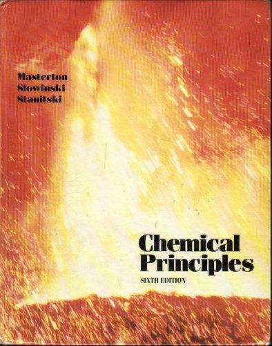 9780030109348: CHEMICAL PRINCIPLES (CLOTH)