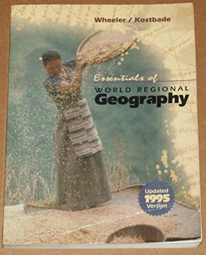 9780030110481: Essentials of World Regional Geography