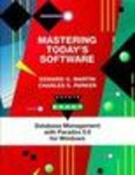 9780030110726: Mastering today's software (Dryden exact)