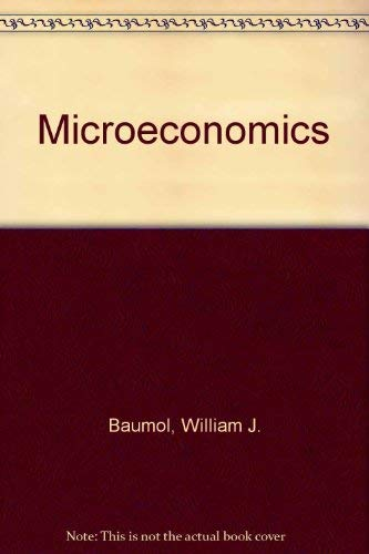 9780030112645: Microeconomics (The Dryden Press series in economics)