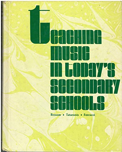 9780030113062: Teaching Music in Today's Secondary Schools