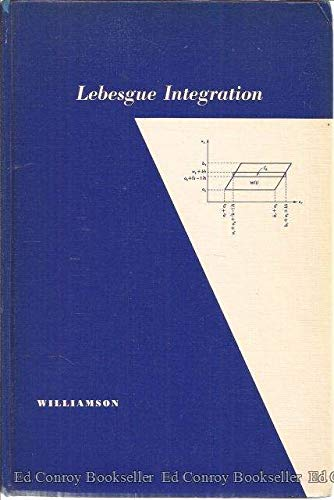 9780030113208: Lebesgue Integration (Athena)