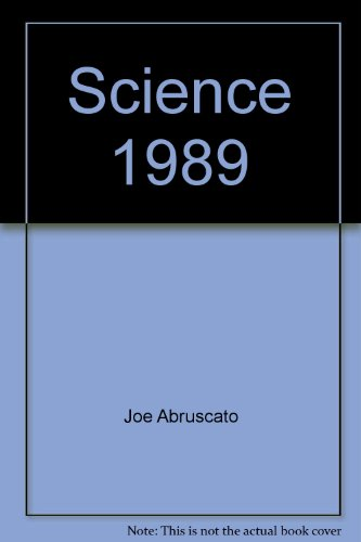 9780030114021: Science 1989