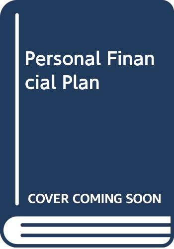 9780030116926: Personal Financial Plan