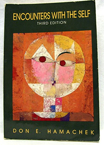 9780030118449: Encounters with the Self (Third Edition) (1987)