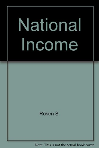 9780030118500: National Income