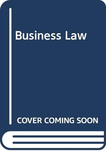 9780030118838: Business Law