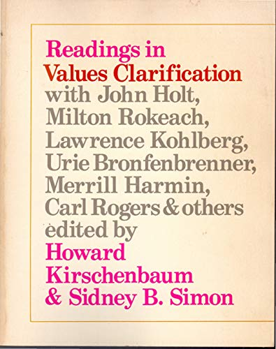 9780030119361: Readings in values clarification