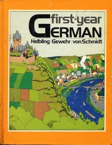 9780030121012: First-year German