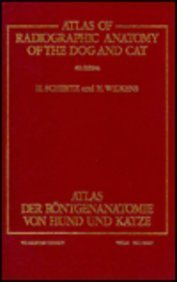 9780030121227: Atlas of Radiographic Anatomy of the Dog and Cat