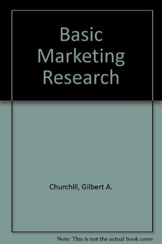 9780030122989: Basic Marketing Research