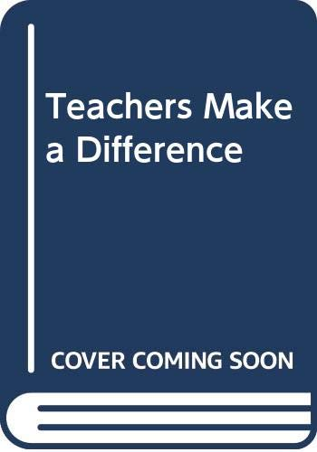 9780030125911: Teachers Make a Difference