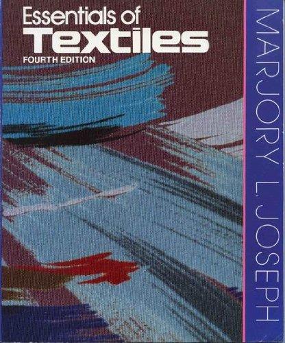 9780030125980: Essentials of Textiles