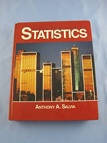 9780030126345: Introduction to Statistics