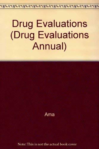 9780030126475: Drug Evaluations (Drug Evaluations Annual)