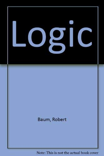 9780030126765: Logic