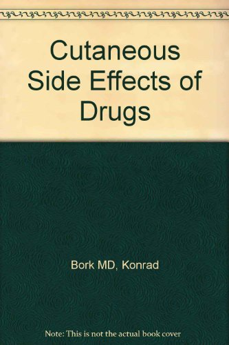 9780030126833: Cutaneous Side Effects of Drugs