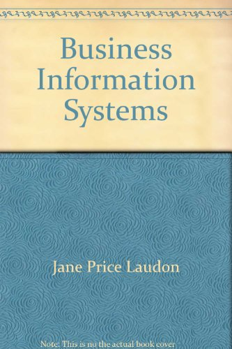 9780030127274: Business Information Systems