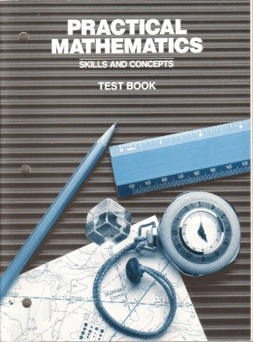 9780030127632: Practical Mathematics Skills and Concepts Test Book