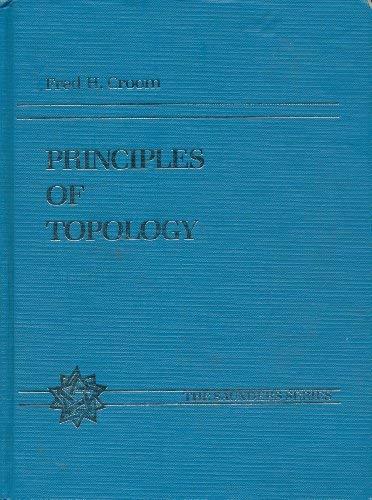 9780030128134: Principles of Topology (Saunders series)