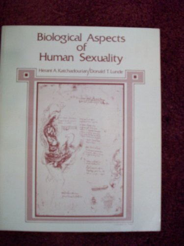9780030128363: Biological Aspects of Human Sexuality