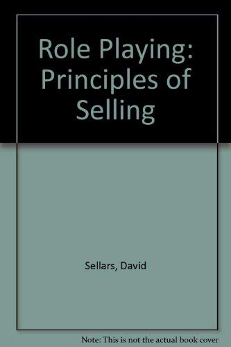 9780030130489: Role Playing: The Principles of Selling