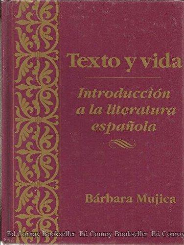 9780030131646: Texto y vida: introducción a la literatura española