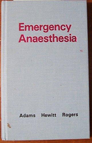 9780030132971: Emergency Anesthesia, 1e