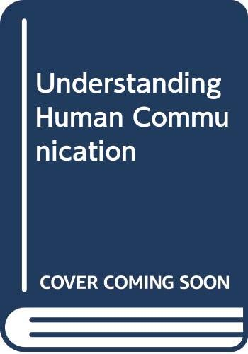 9780030133633: Understanding Human Communication