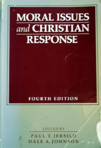 9780030135231: Moral Issues and Christian Responses