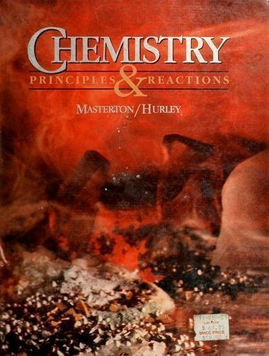 9780030136436: Masterton/Hurley Chemistry:Principles & Reactions