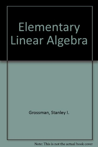 9780030138133: Elementary Linear Algebra