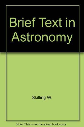 9780030138454: Brief Text in Astronomy