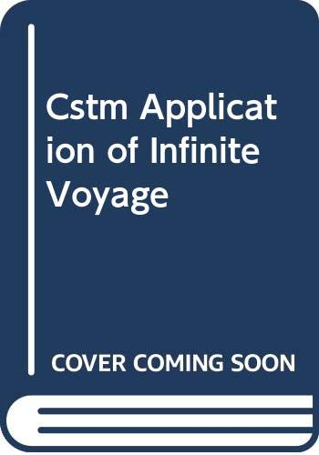 9780030138577: Cstm Application of Infinite Voyage