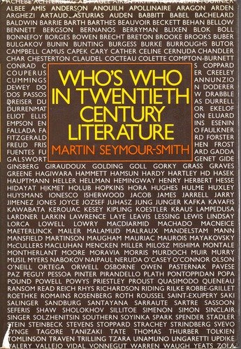 9780030139260: Who's Who in Twentieth-Century Literature