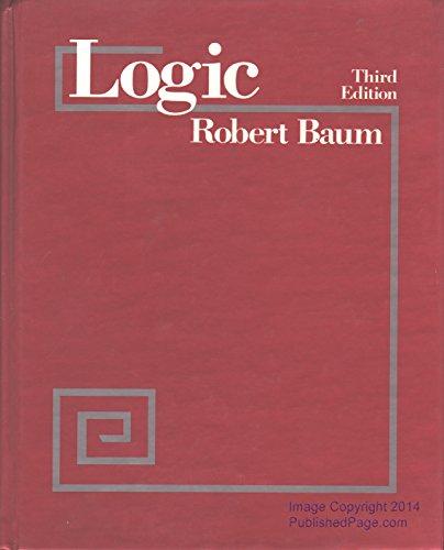 9780030140785: Logic