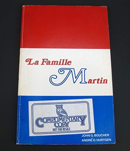 9780030140860: La famille Martin (French Edition)