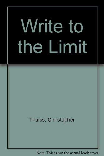 9780030140891: Write to the Limit