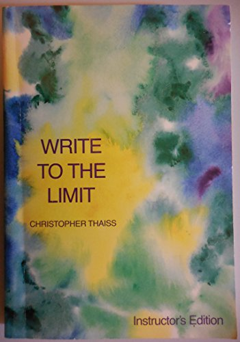 9780030140921: Write to the limit