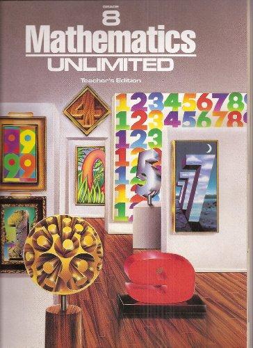 9780030144493: Mathematics Unlimited Grade 8 Teacher's Edition