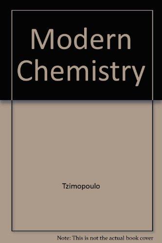 9780030145032: Modern Chemistry Teacher Edition