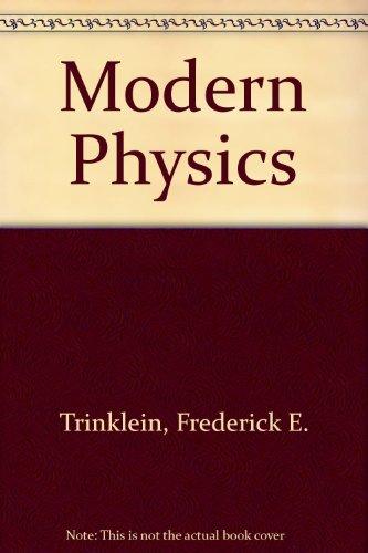 9780030145148: Modern Physics