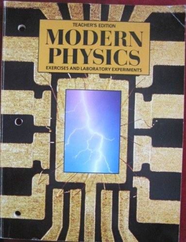 9780030145193: Exercises & Experiments for Modern Physics