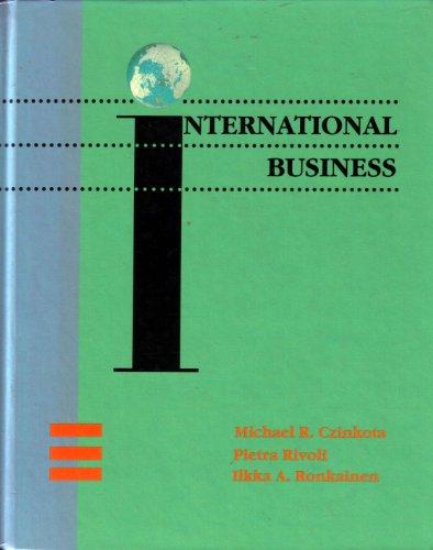 9780030145339: International business (The Dryden Press series in management)